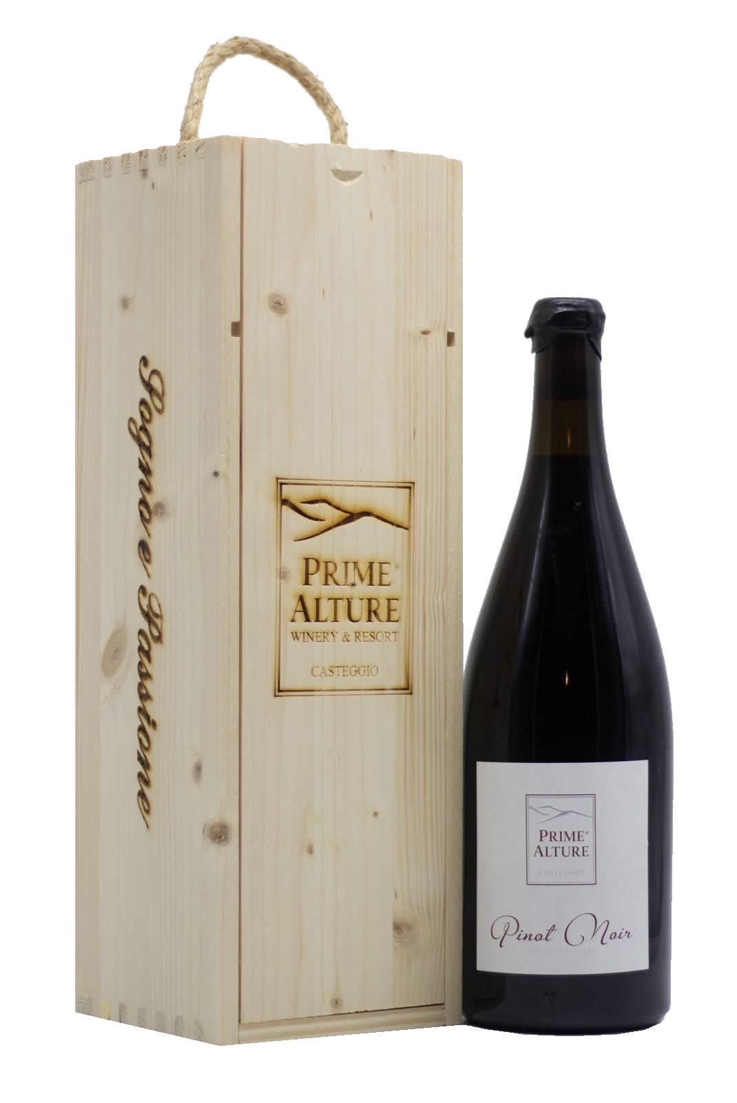 MAGNUM Monsieur Pinot Noir – Cassetta in legno Prime Alture Winery