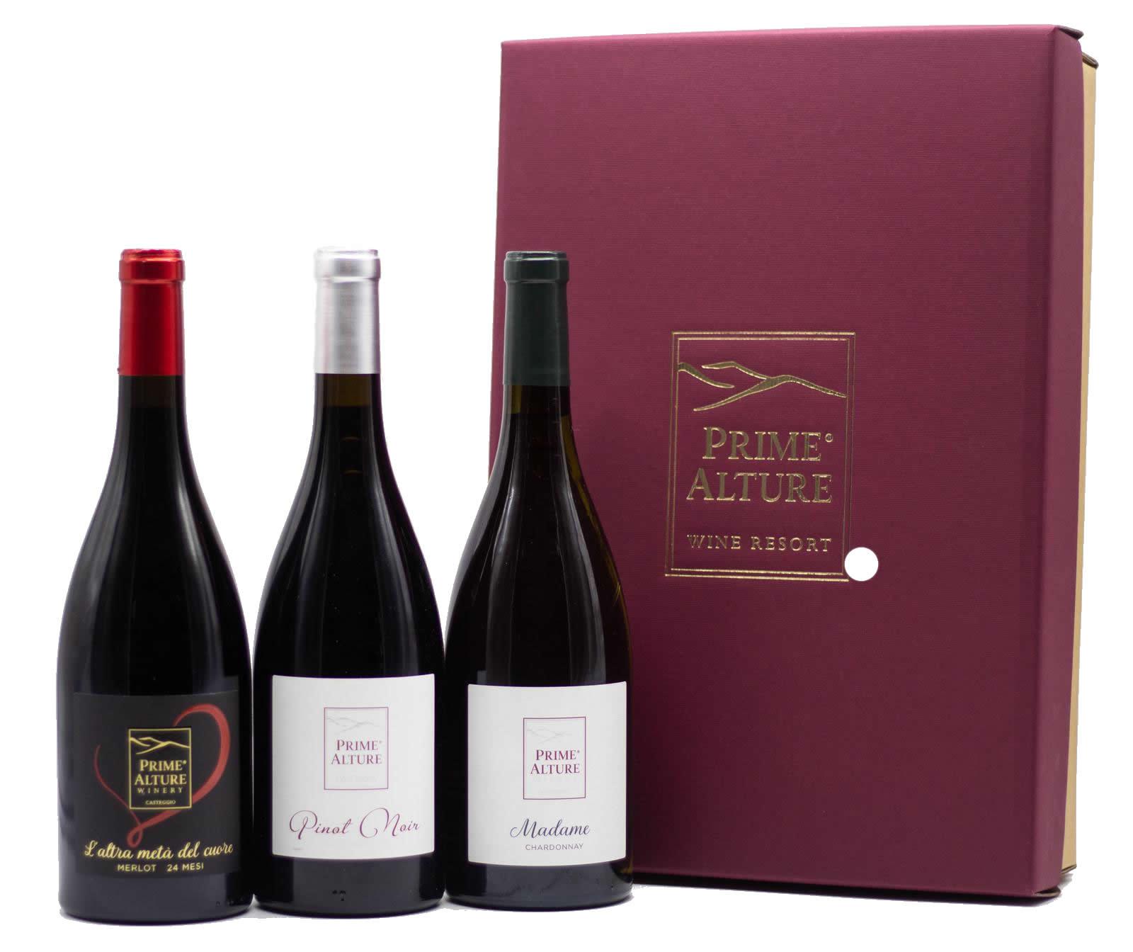 cofanetto regalo vini riserva oltrepo pavese